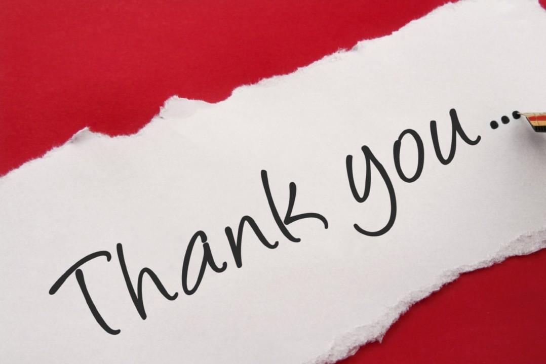 Köszönőlevél ügyfelünktől